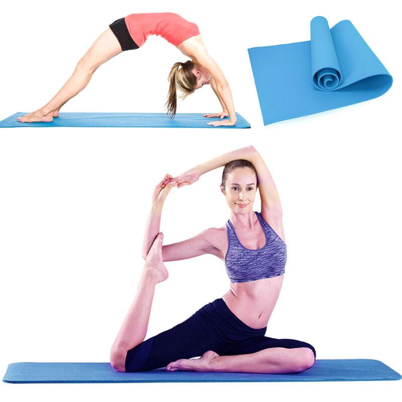 Gymnastikmatte 183cmx60cm Yogamatte Pilates Matte Sportmatte Fitnessmatte DE DHL