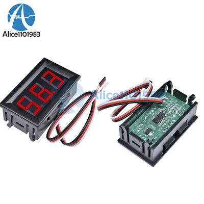 Red Led Panel Meter Mini Digital Voltmeter Dc 0v To 99.9v Top