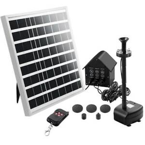 Pond Pump Solar with Battery Garden Water Fountains Remote Control Kings Beach Caloundra Area Preview