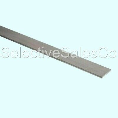 Stainless Steel Flat Bar Stock 18 X 12 X 6 Ft. Rectangular 304 Mill Finish