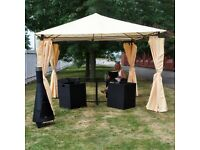 NEW COLLECTIONS! GARDEN FURNITURE! SETS! GAZEBO! COMPETITIVE PRICES! HIGH QUALITY! ALUMINIUM FRAME!
