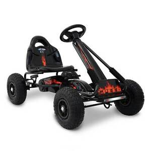Kids Pedal Go Kart - Black Silverwater Auburn Area Preview