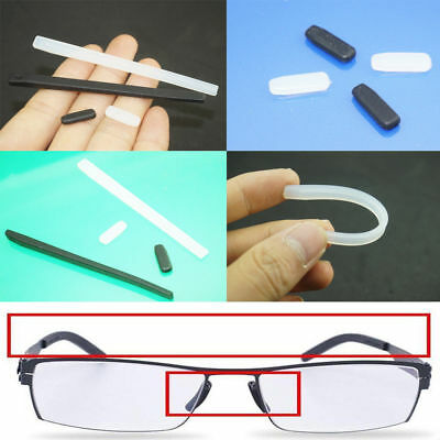 Silicone Arms Cover Temple Tips Nose Pad For ic! Berlin Glasses Eyeglasses (Eyeglass Temple Pads)
