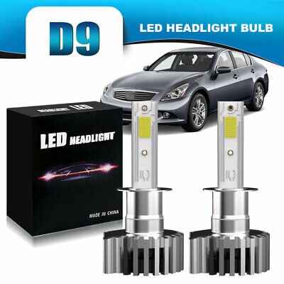 H1 LED Headlight Bulbs 60W 13200LM Kit Low Beam 6500K White Plug And Play DWM for sale  Florence