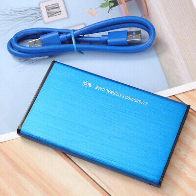 1TB 2TB USB3.0 Black Portable External Hard Drive Ultra Slim For One Mac Windows