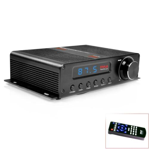 Pyle PFA540BT Compact 5-Channel Bluetooth Amplifier, Hi-Fi A