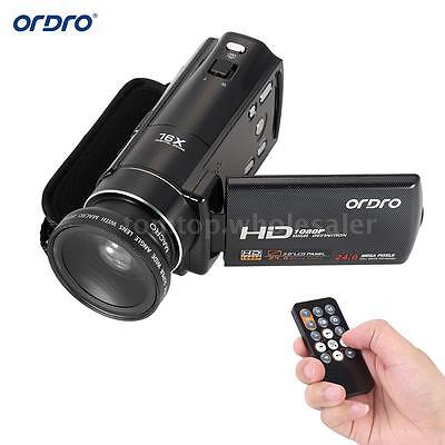 ORDRO  FULL HD 1080P 16X ZOOM 3