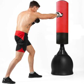 NEW 165CM HOME GYM BOXING BAG TARGET FREE STANDING PUNCHING DUMMY