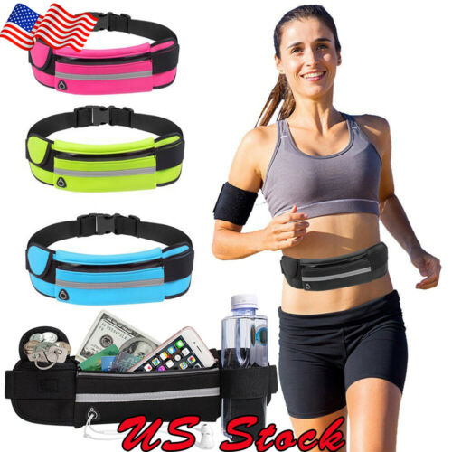 Running Bag Waterproof Phone Waist Fanny Pack Men Women Jogg