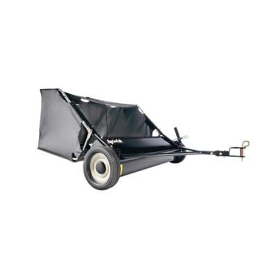 Agri-Fab 42 In. 12 Cu. Ft. Tow Behind Lawn Leaf Sweeper Bagger Hopper *NEW* ()