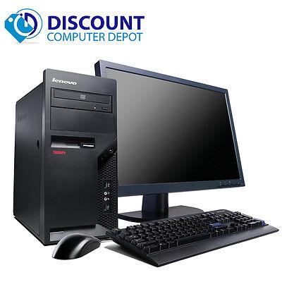 Lenovo  Windows 10 Pro Desktop Computer PC Core 2 Duo 2.13GHz 4GB w/17