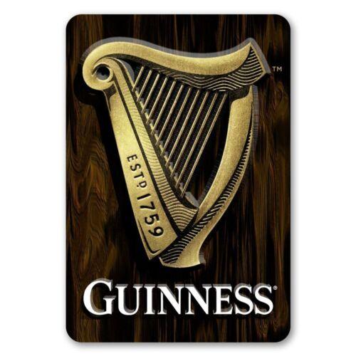 Guinness 3D Harp Bar Sign ~ New