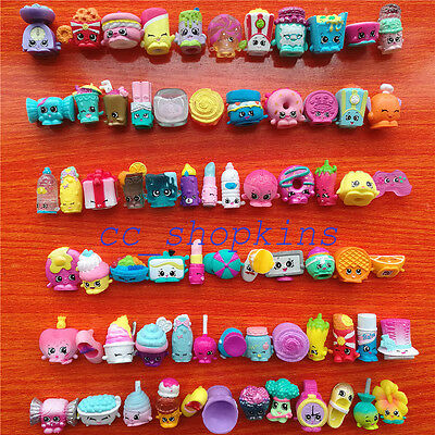 30Pcs 2017 Random Shopkins Season 1 2 3 4 5 6 7 8 - All Different - Best Gift