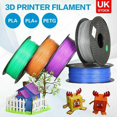 3D Printer Printing Filament 1.75mm 1KG Spool Accuracy Makerbot PETG/PLA/PLA+