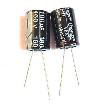 160v 10uf 22uf 33uf 47uf 100uf 105c Aluminum Electrolytic Capacitor