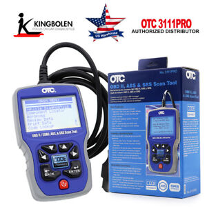 OTC 3111PRO OBD II CAN Scan Tool ABS & SRS Car Truck Diagnostic tool Fit for GM