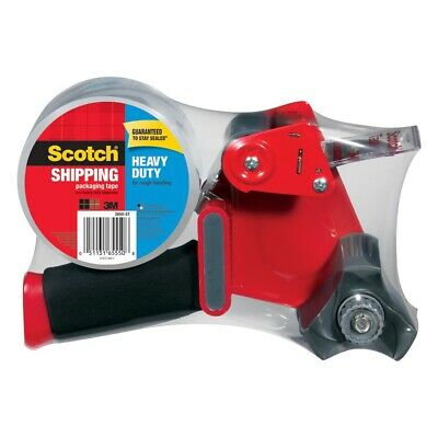 3m Scotch Tape Gun Dispenser W 1-heavy Duty 3850 Shipping Packaging Rolls