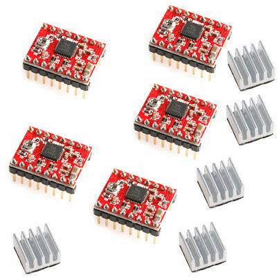 5pcs A4988 Driver Module Stepper Motor Driver For Reprap 3d Printer Step Stick