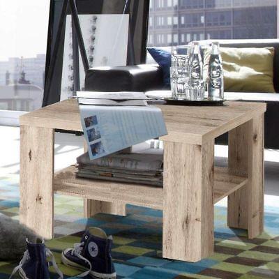 Tisch Wohnzimmertisch Beistelltisch Tische quadratisch sandeiche Neu Couchtisch ()