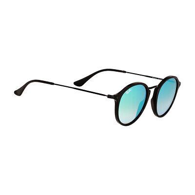 Rayban Acetate Frame Green Gradient Flash Lens Unisex Sunglasses (Green Flash Sunglasses)