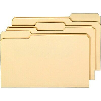 Staples Interior File Folders 3-tab Legal Size Manila 100box 117739