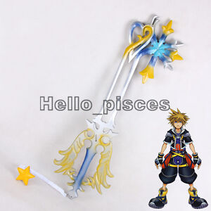 """Exclusive Made Kingdom Hearts Oathkeeper Keyblade PVC Weapon Cosplay Prop 38"""""""