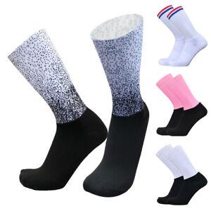 Summer Professional Cycling Socks Anti-slipping Breathable Socks Aero Socks H7Q2