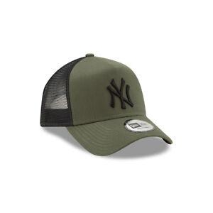 NEW ERA NEW YORK YANKEES BASEBALL CAP.9FORTY MLB LEAGUE ESSENTIAL TRUCKER  HAT 9S 4d44d05de