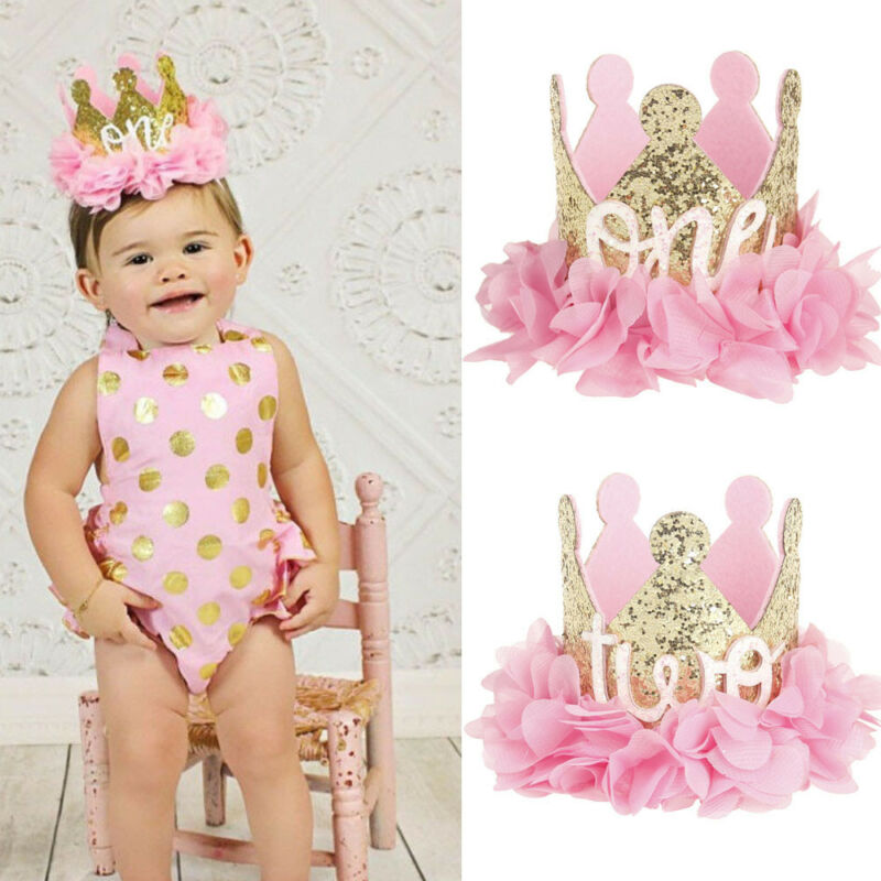 Baby Girl 1st Birthday Themes.Details About Cute Princess Baby Girl 1st Birthday Party Flower Crown Party Headband Hairband