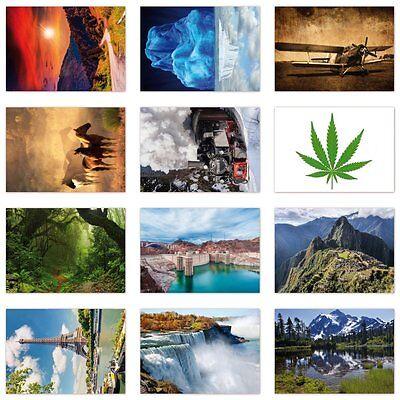 51 Stück Postkarten-Set, verschiedene Motive,  Ansichtskarten DIN A6 (PKT-012)