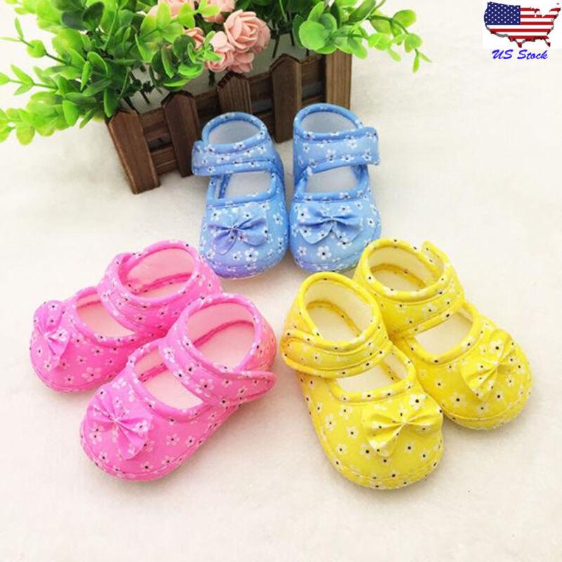 Infant Kids Baby Girls Bowknot Floral Newborn Princess Cloth