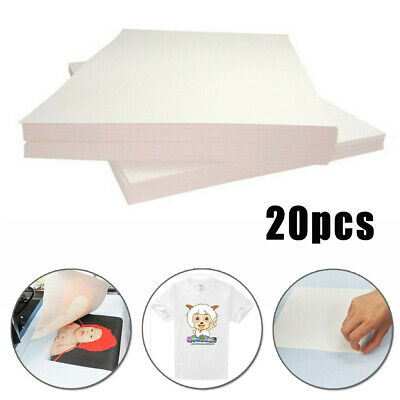 20 A4 Thermal Transfer Sublimation Paper Ink Printing T-shirt Graphic Equipment