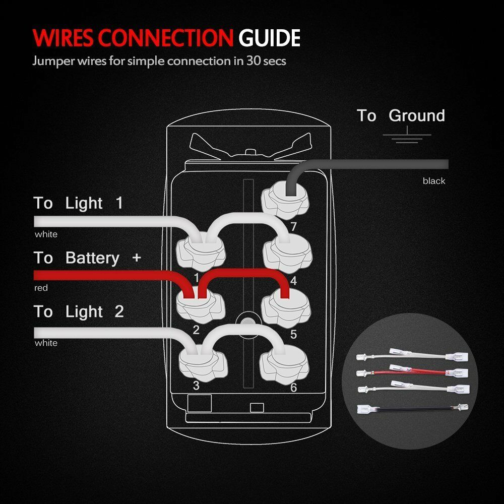 Momentary Switches Laser Rocker 7pin Winch In Wiring Manual Guide