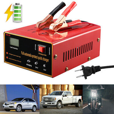 Maintenance-free Battery Charger 12V/24V 10A 140W Output For Electric Car