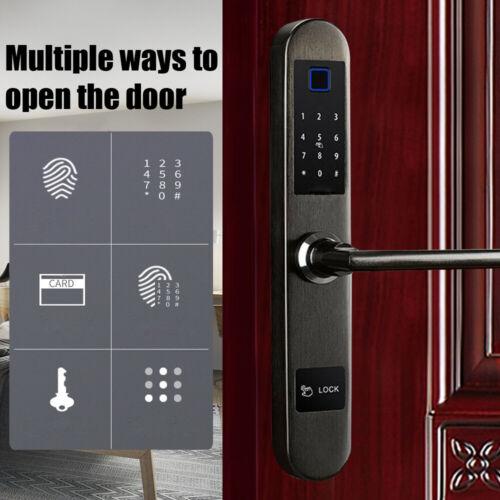 Digital Smart Door Lock Fingerprint Password Lock Touchscree