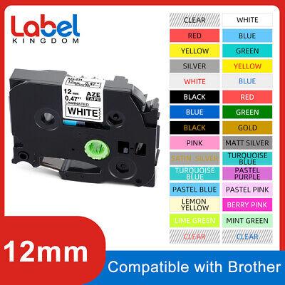 Tze-231 Tz 12mm Laminated Label Tape Compatible Brother P-touch Tze Pt-d210 12