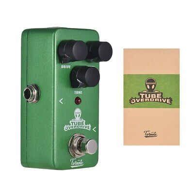 NUX Twinote TUBE OVERDRIVE Mini Analog Overdrive Guitar Effect Pedal Processsor