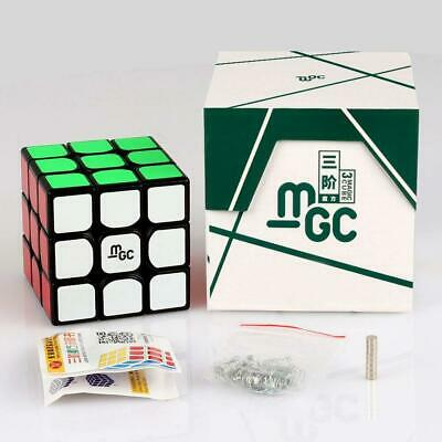 YJ MGC Magnetic 3x3x3 Black Speed Cube Magic Cube Puzzle Toys Ship from USA
