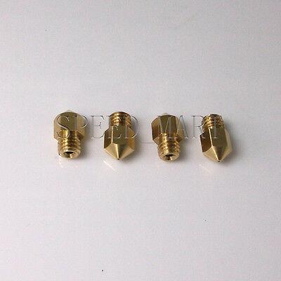 0.4 Nozzle 3d Printer Extruder Print Head Hot End For Mk8 Makerbot Reprap