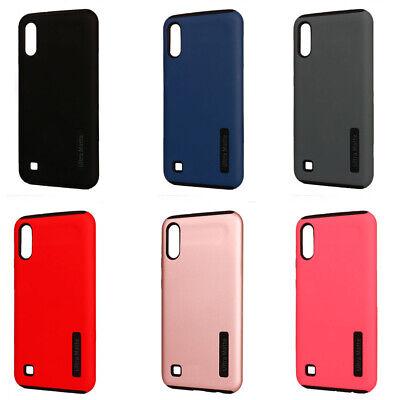 Galaxy Wholesale (Lot/6 Ultra Matte Hybrid Case For Samsung Galaxy A10, M10)