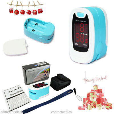 Fingertip Pulse Oximeter Spo2 Blood Oxygen Saturation Monitorcasecontec Cms50m