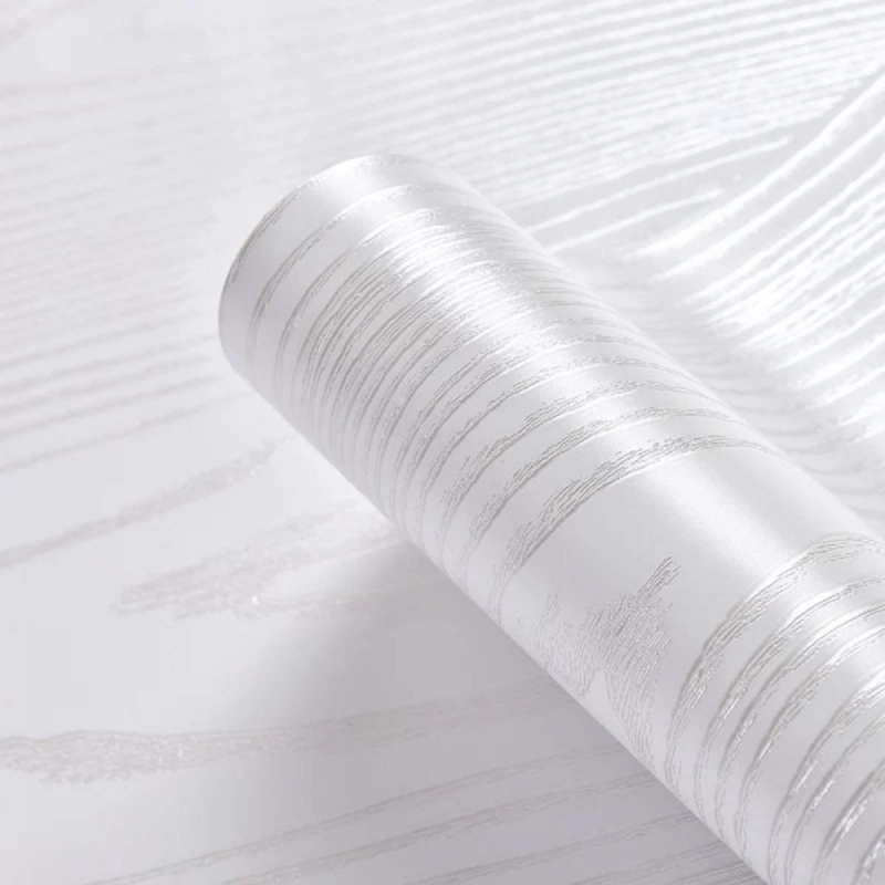 Wood Paper Vinyl Wallpaper Peel and Stick Self-Adhesive Coun