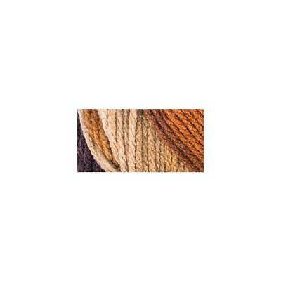 Red Heart Super Saver Yarn, Latte Stripe, 5 Oz Skein, E300, 100% Acry, Worsted