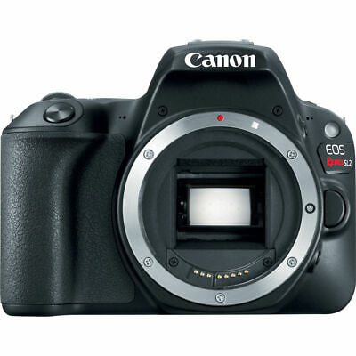 Canon EOS Rebel SL2 24.2MP Digital SLR Camera Body | Black | WiFi Enabled