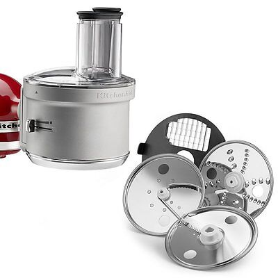 Grater Attachment - KitchenAid ExactSlice Food Processor With Dicing Kit Attachment RR-KSM2FPA Refur