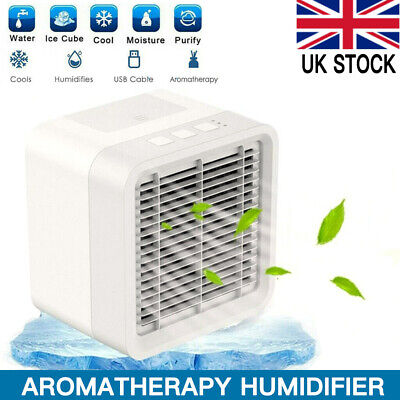 Air Cooler Portable mini Air Conditioner Humidifier Purifier Cooler Fan 3 in 1