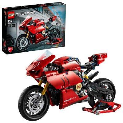 LEGO Technic Ducati Panigale V4 R Motorbike Model Set 42107 Age 9+ 646pcs