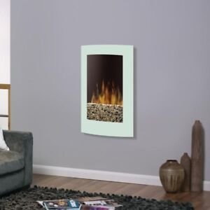 Electric wall mount fireplace, New in box. Model VCX1525WH