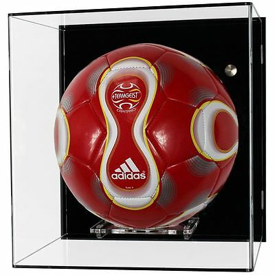 Acrylic Wall Display Case for a Football