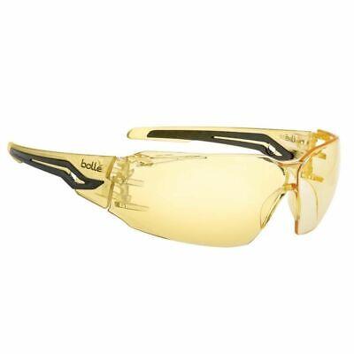 Bolle Silexpsj Silex Safety Glasses - Yellow Temples - Yellow Anti-fog Lens